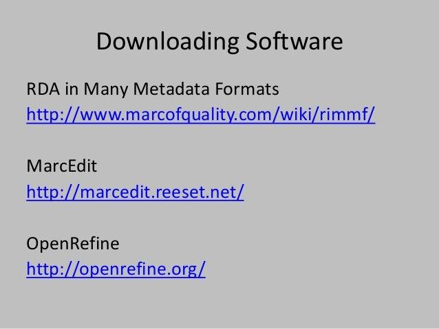 LC's BIBFRAME Tools http://bibframe.org/tools/