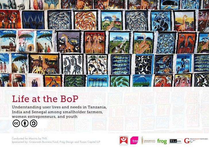 Life at the BoP                                                                                 Source: Tinga-tinga painti...