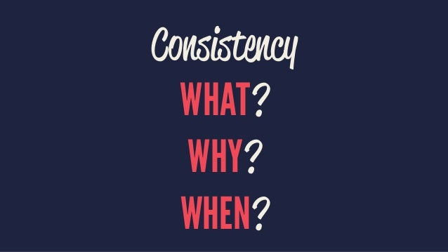 WE NEED TO DECOMPOSE THE SYSTEM USING CONSISTENCY BOUNDARIES