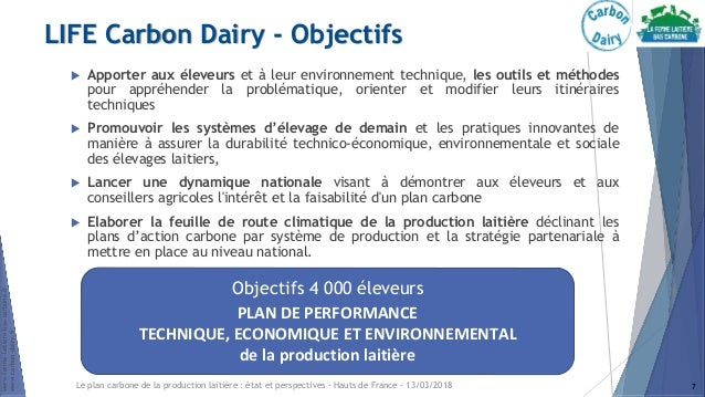le plan carbone de la production laiti u00e8re    u00e9tat et perspectives dans u2026