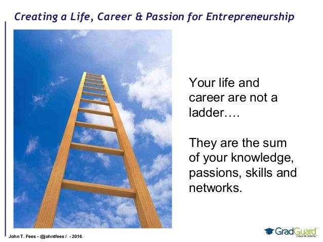 Life, careers and entrepreneurship by John Fees Slide 2