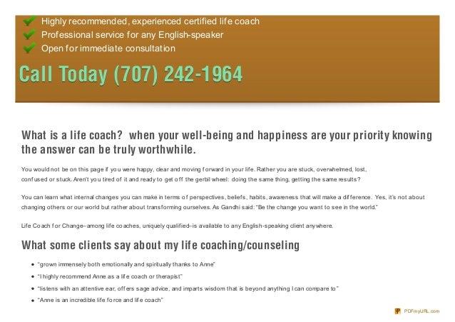 Life Coach for Change Slide 2