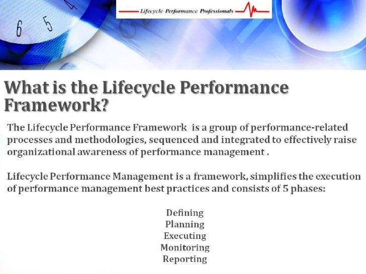 Business Management Framework, Performance Management Framework Slide 2
