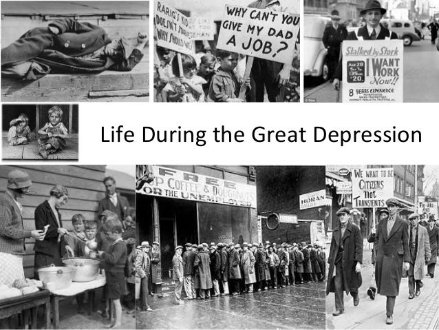 life during the great depression The great depression had a silver lining: during that hard time, us life expectancy actually increased by 62 years, according to a new study life expectancy rose from 571 in 1929 to 633 years in 1932, according to the analysis by u-m researchers josé a tapia granados and ana diez roux the.
