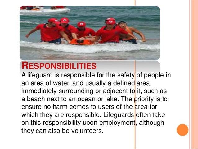 Lifeguard Lifeguard regulations for swimming pools