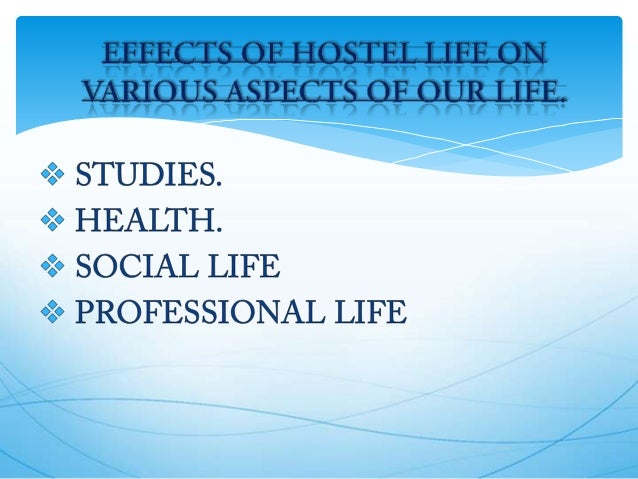 essay on life in a college hostel Hostel life we conduct an online survey and present many problems to the hostel  life through a questionnaire  when you enter the college hostel to share your  room with a room partner  satisfaction factor analysis education essay.