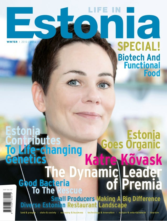 WINTER I 2013 / 2014 SPECIAL! Biotech And Functional Food land & people I state & society I economy & business I technolog...