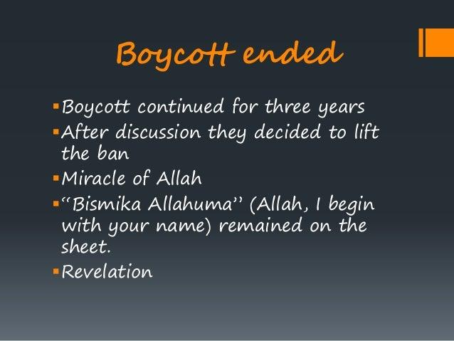Meccan boycott of the Hashemites