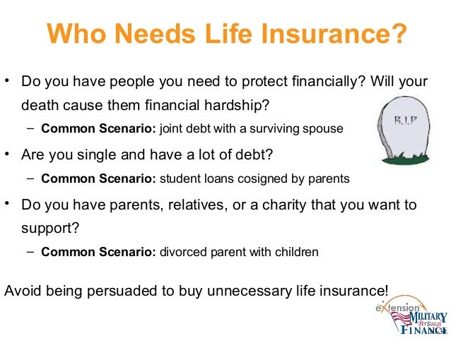 Life insurance: What PFMP Staff and Military Families Need ...