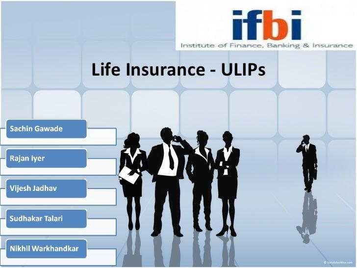 Life Insurance - ULIPs