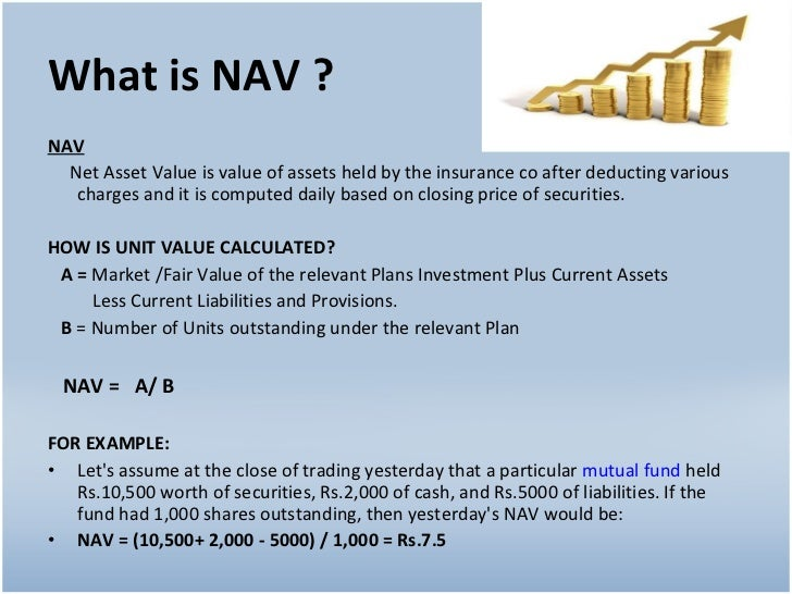 what is the net asset value