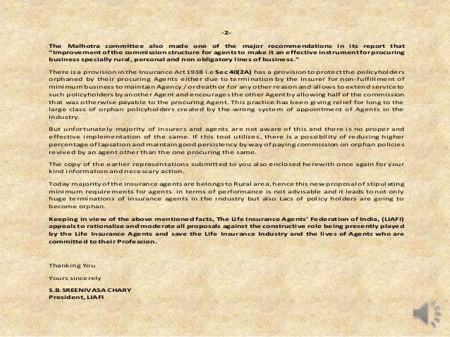 letter of introduction insurance agent