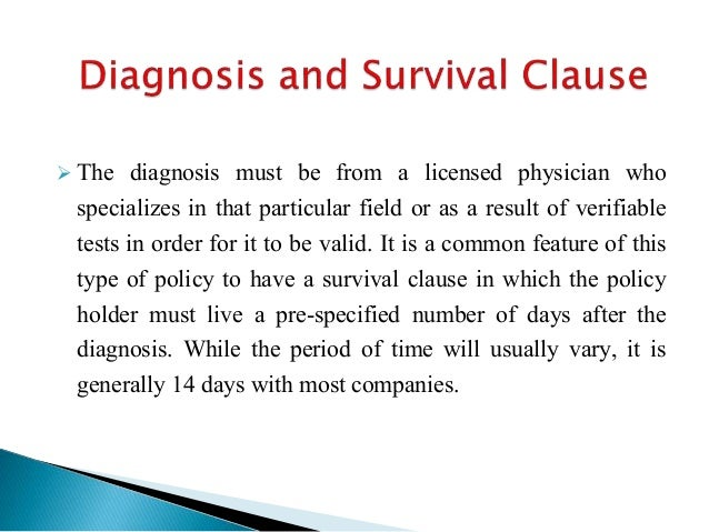  The diagnosis must be from a licensed physician who specializes in that particular field or as a result of verifiable te...