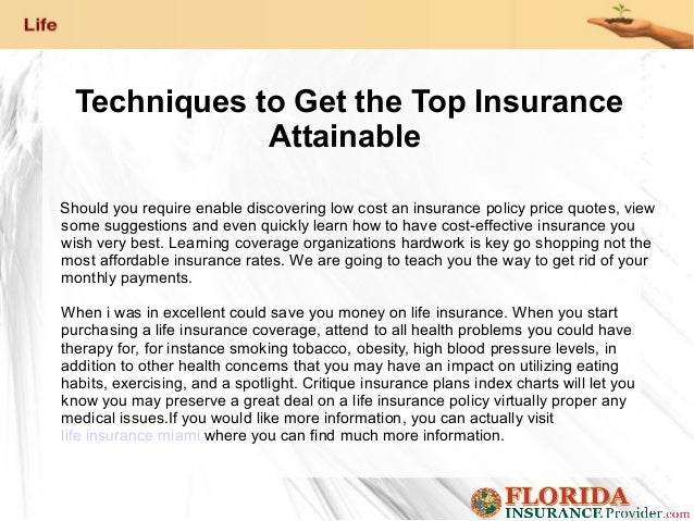 Techniques to Get the Top Insurance Attainable Should you require enable discovering low cost an insurance policy price qu...