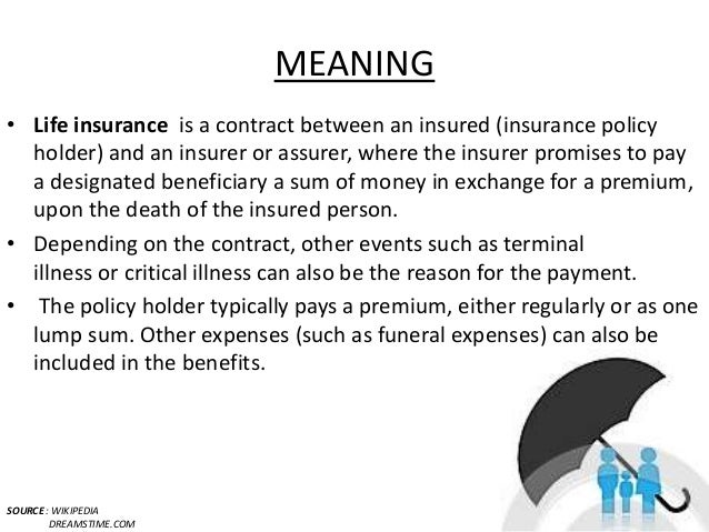 Types of life insurance policies in india.
