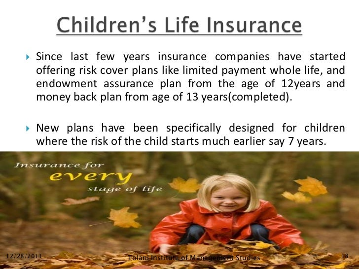   Since last few years insurance companies have started         offering risk cover plans like limited payment whole lif...