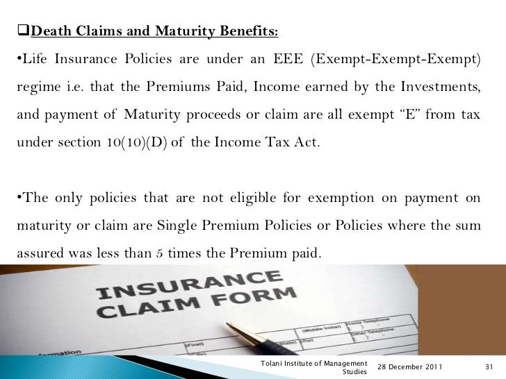 Essay on types of insurance