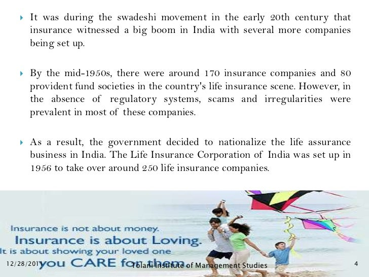    It was during the swadeshi movement in the early 20th century that       insurance witnessed a big boom in India with ...