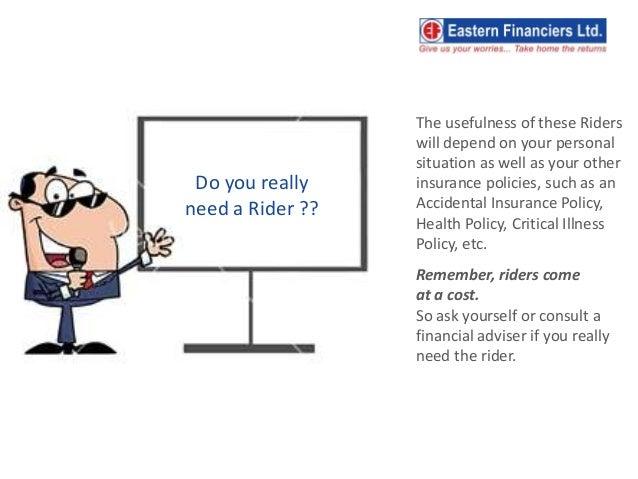 Life Insurance Riders