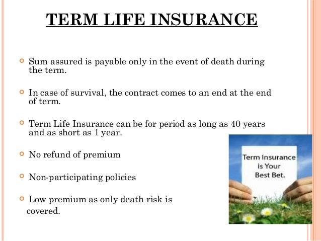 4. Insurance non-life insurance.