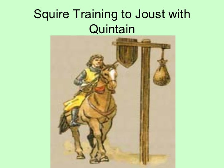 Medieval Squire Training