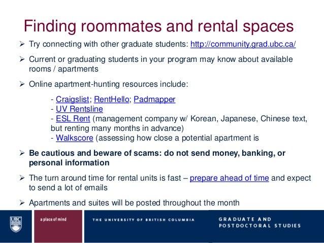 Ubc Apartments For Rent Craigslist