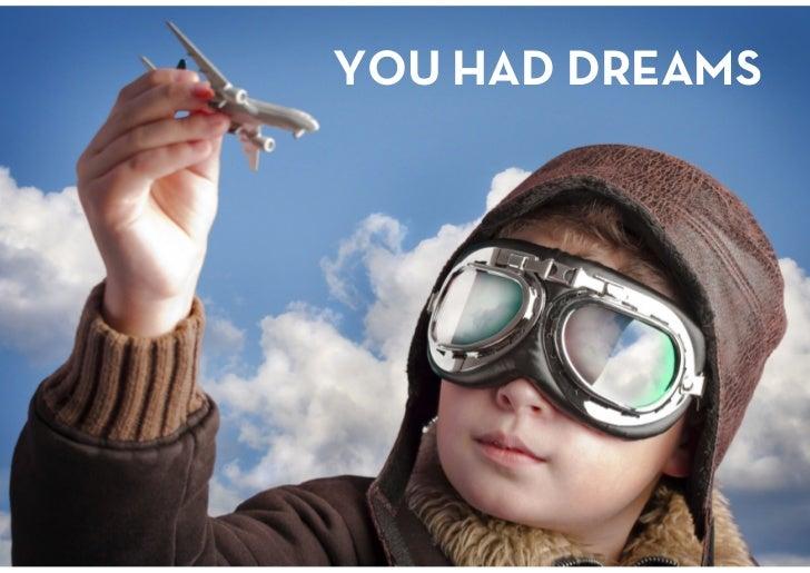 YOU HAD DREAMS<br />