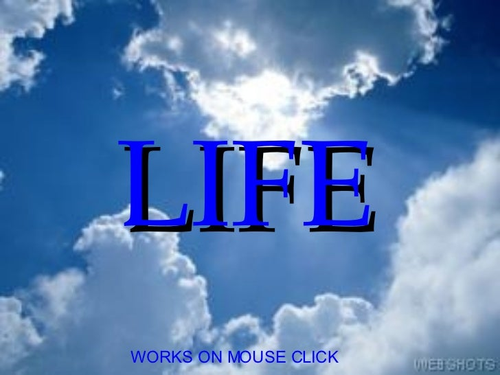WORKS ON MOUSE CLICK LIFE