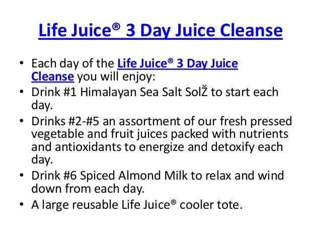 Three Day Cleanse & Detox - Skinny Ms.