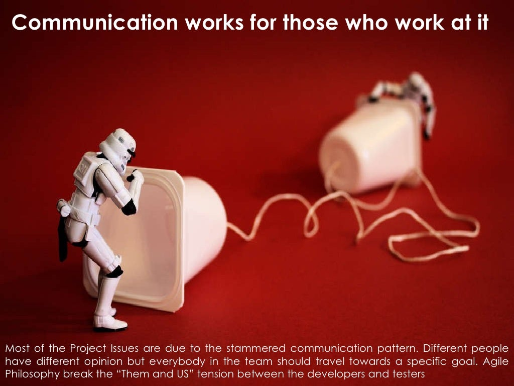 communication works for those who