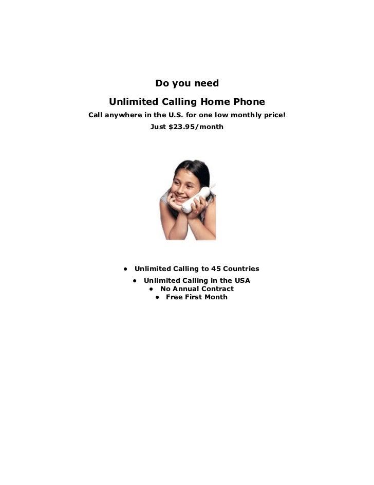 Lifeline Home Phone Service Provider