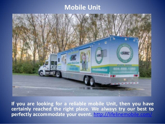 Mobile Unit If you are looking for a reliable mobile Unit, then you have certainly reached the right place. We always try ...