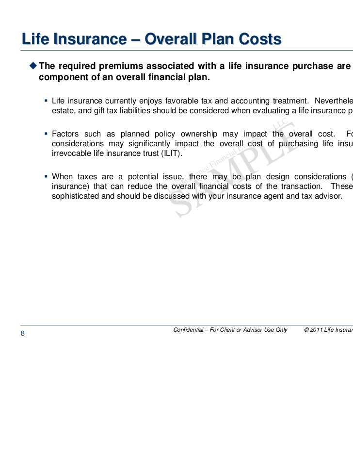Life insurance backdating rules and regulations