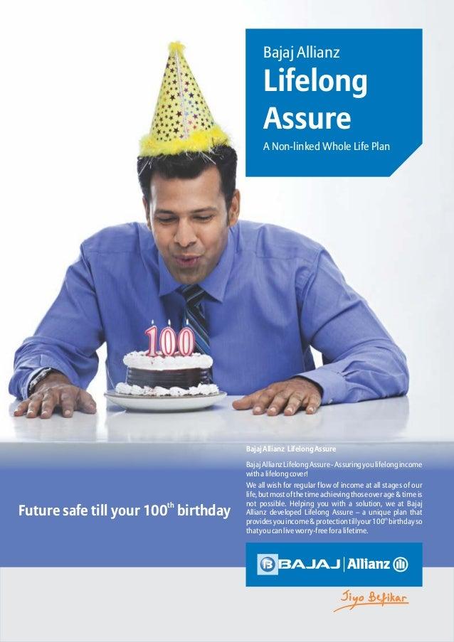 Bajaj Allianz Life Long Assure Retirement Insurance Solution