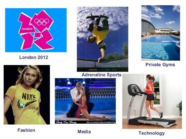 London 2012 Private Gyms Adrenaline Sports  Fashion  Media  Technology