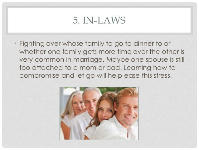 inlaws and marriage