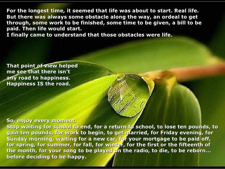 Life Matters Slide 3