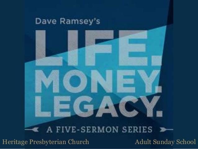 Heritage Presbyterian Church Adult Sunday School
