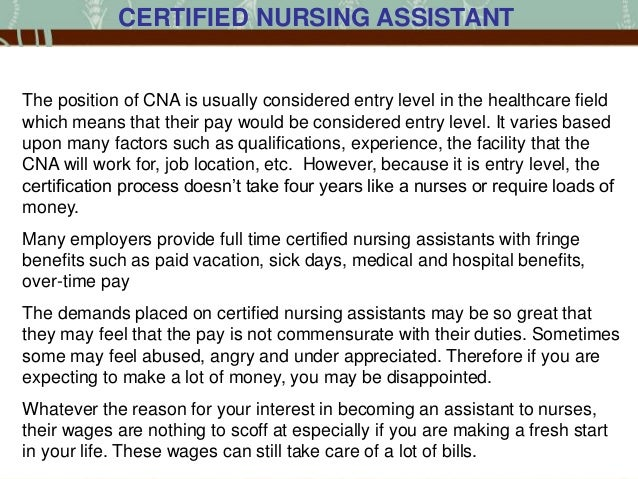 nursing wages essay For this kind of nurse, the average salary is $57,252 in ontario and the top of the scale salary you get it is $81,315 after 25 years of service, your salary increases to $82,258 to become a certified rn, you need to have some sort of education after high school.