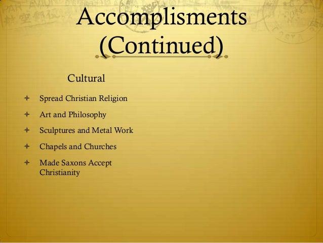 life accomplishments