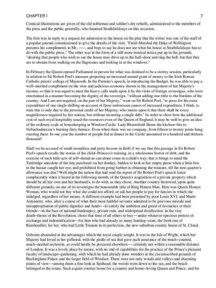 queen victoria thesis paper