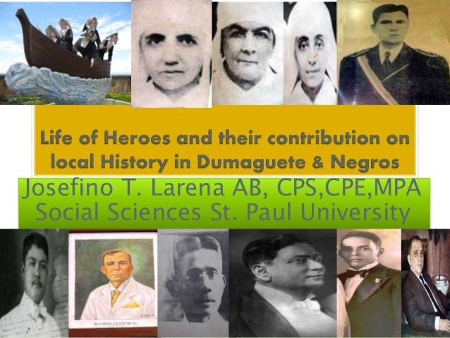 Josefino T. Larena AB, CPS,CPE,MPA Social Sciences St. Paul University
