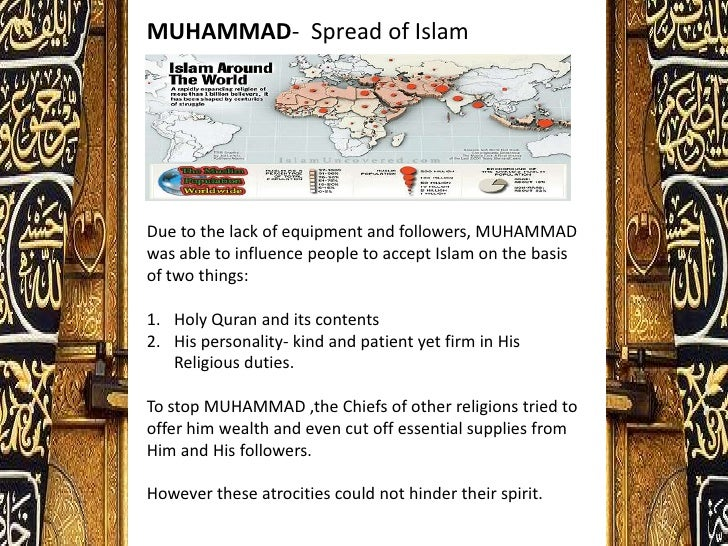 How was Muhammad called to be the profit of Islam?