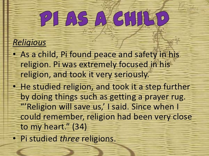 life of pi and religion