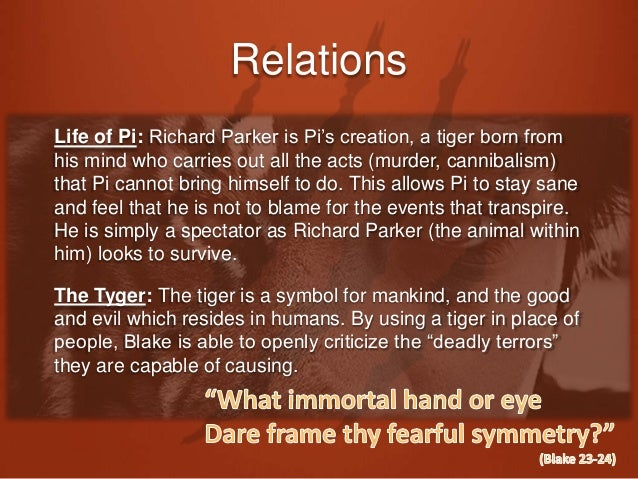 life of pi the tyger seminar 2 survival life of pi