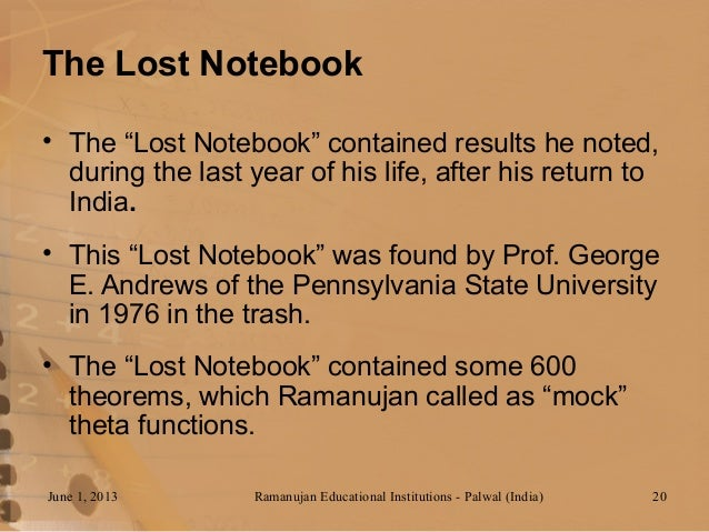 Read Ramanujan's Lost Notebook: Part I (Pt. 1) PDF Online