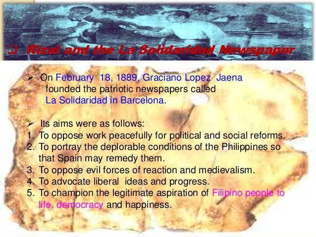 reaction poper la vision del fray rodriguez by jose rizal Dr jose rizal's novels  an augustinian friar by the name of jose rodriguez in a pamphlet entitled caiingat cayo (beware)  to contribute articles .