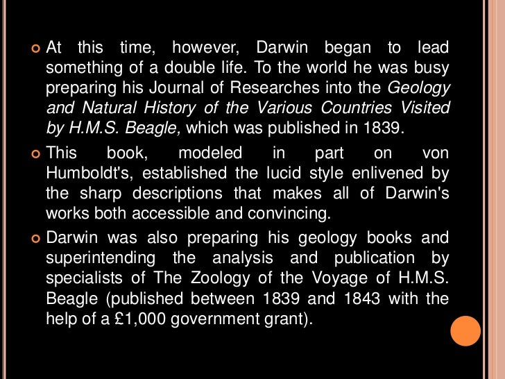 a biography of the life and times of charles darwin Charles darwin was a scientific thinker who wasn't intimidated by the beliefs of his day his discoveries paved the way for scientists of the future this is a timeline of his life.