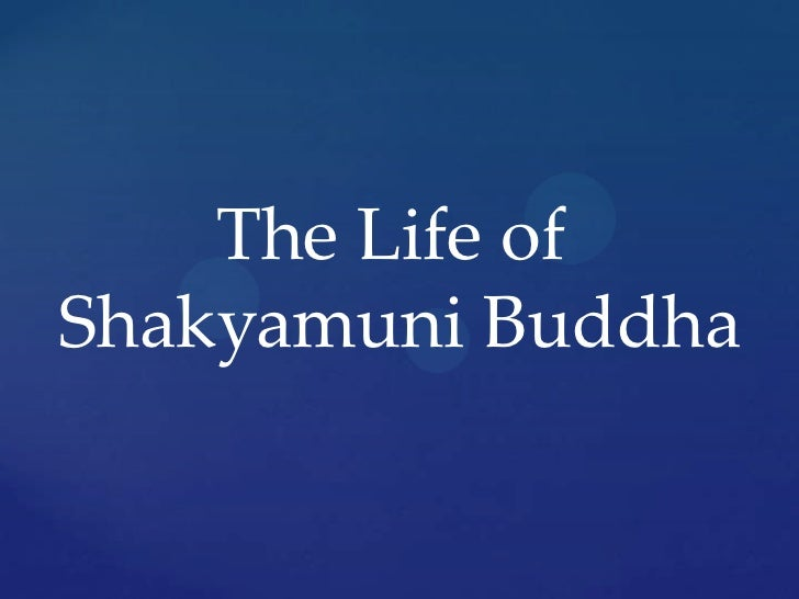 The Life of <br />Shakyamuni Buddha<br />