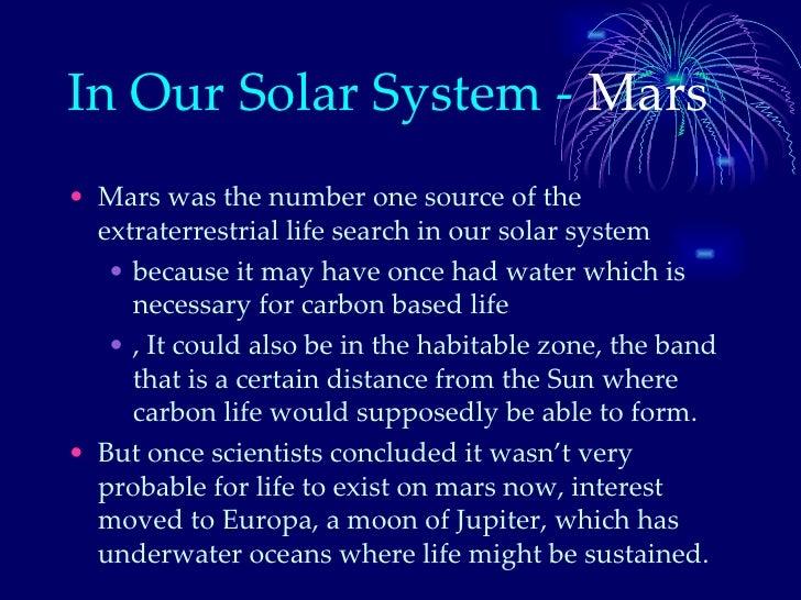 Life on other planets dani